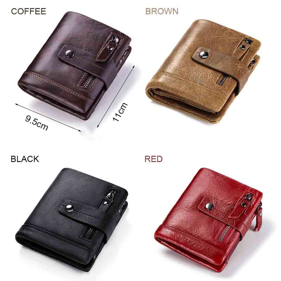 Genuine leather wallet for men  + Free engraving