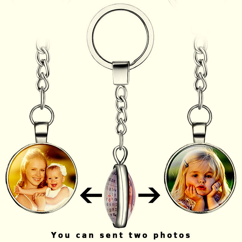 Double Side Personalized Custom Keychains